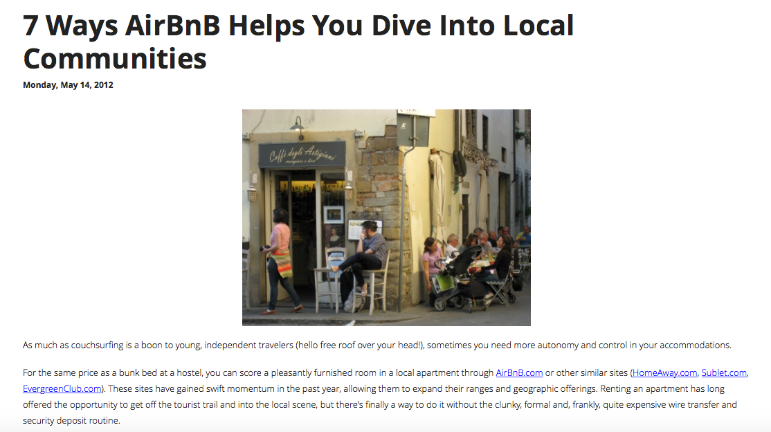 7 Ways AirBnB Helps you Dive into Local Communities