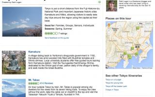 Tokyo Series for TripAdvisor